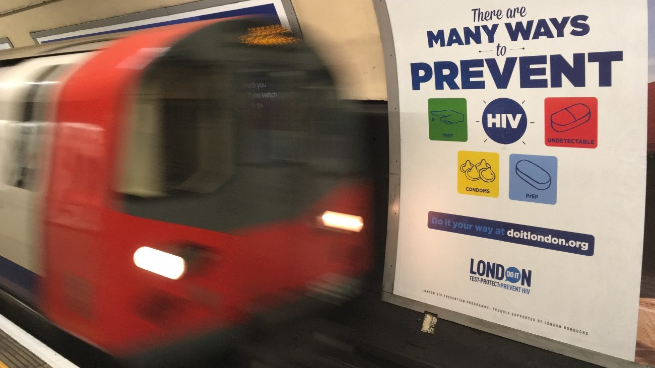 La campagne Do It London dans le métro londonien - DR