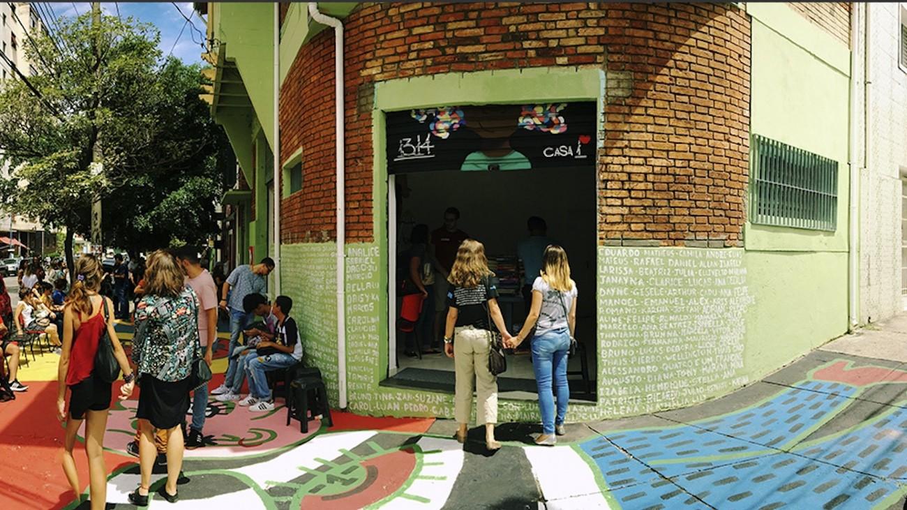 La Casa Um accueille les jeunes LGBT+ à Sao Paolo depuis 2015 - DR
