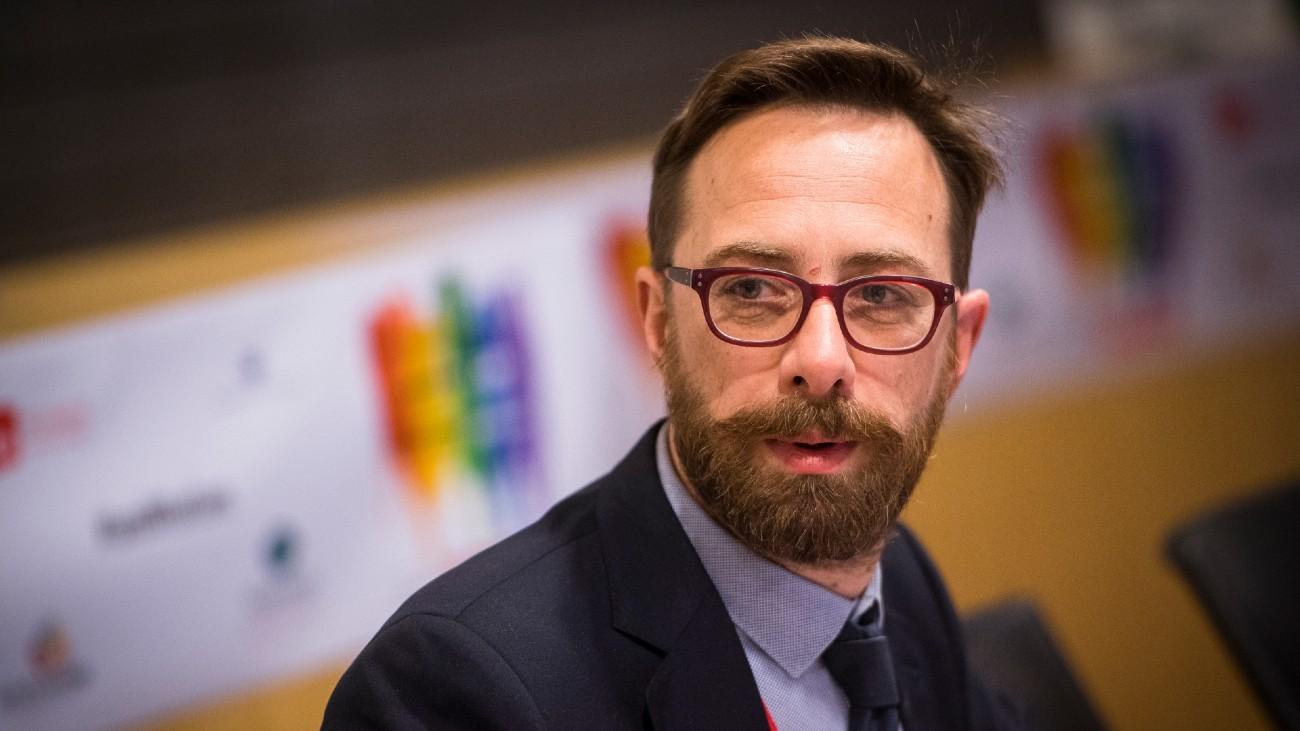 Danielle Viotti, euro-députée italien, membre du Parti Socialiste Européen et co-Président de l'Intergroupe LGBTI / PES - Flickr