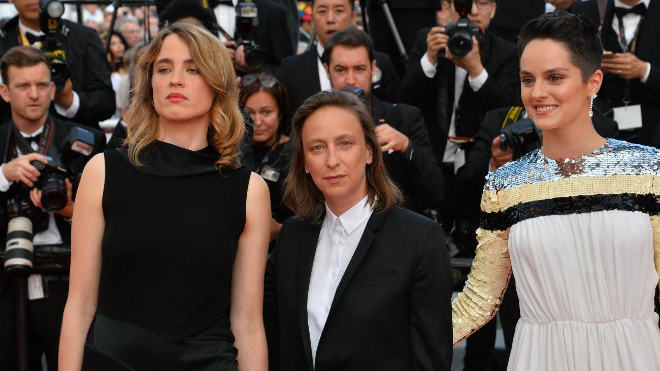 Adèle Haenel, Céline Sciamma et Noémie Merlant au 72e Festival de Cannes - Featureflash Photo Agency / Shutterstock