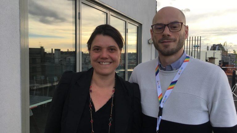 Aurore Carlo et Lionel Henné viennent de lancer le réseau LGBT Égalité au sein de Publicis - Christophe Martet