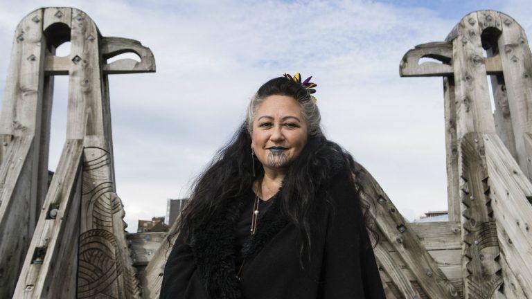 Elizabeth Kerekere, universitaire maorie - Aaron Smale pour Komitid