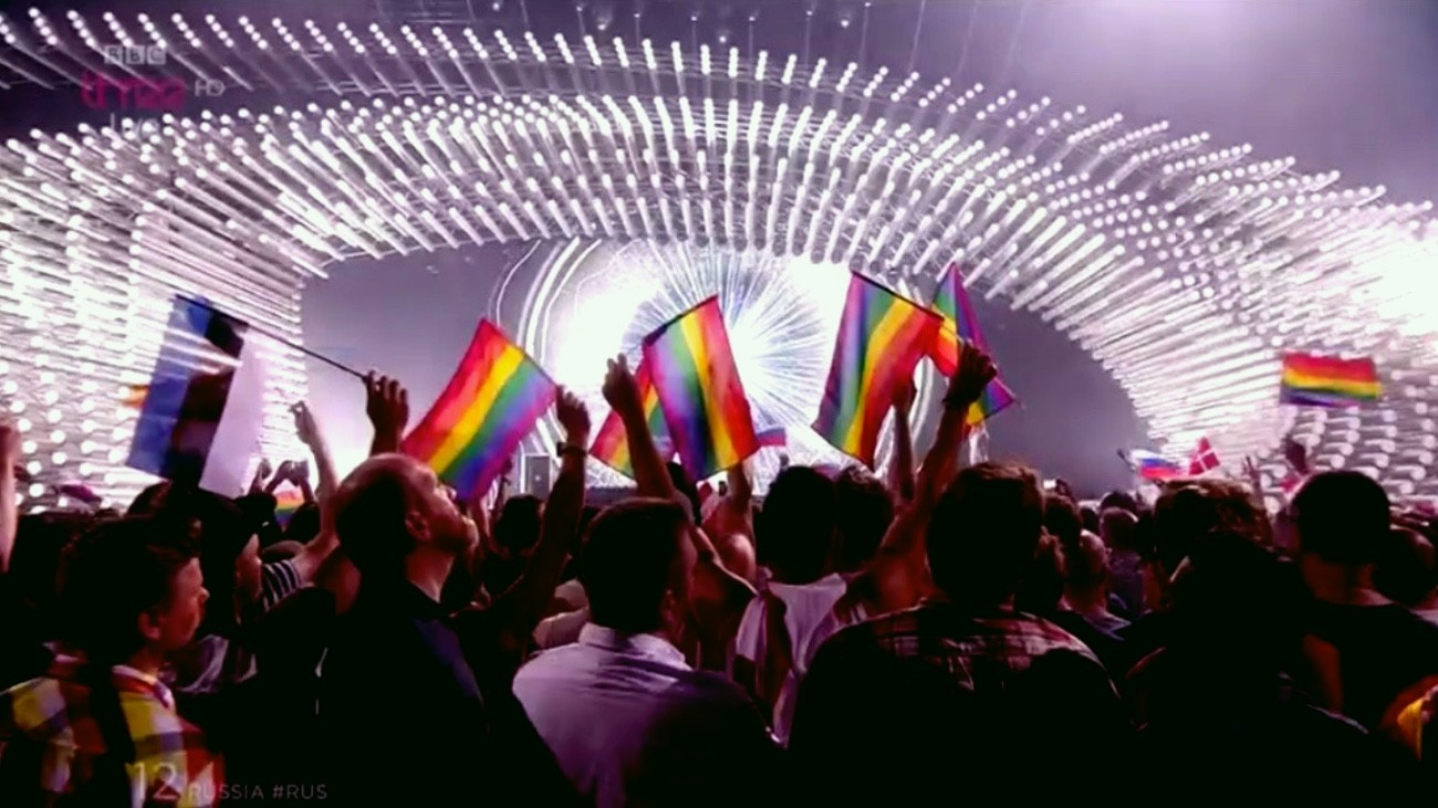 eurovision rainbow