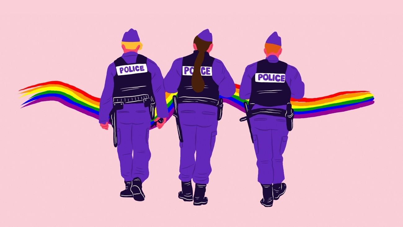 referents LGBTphobies police lucy macaroni