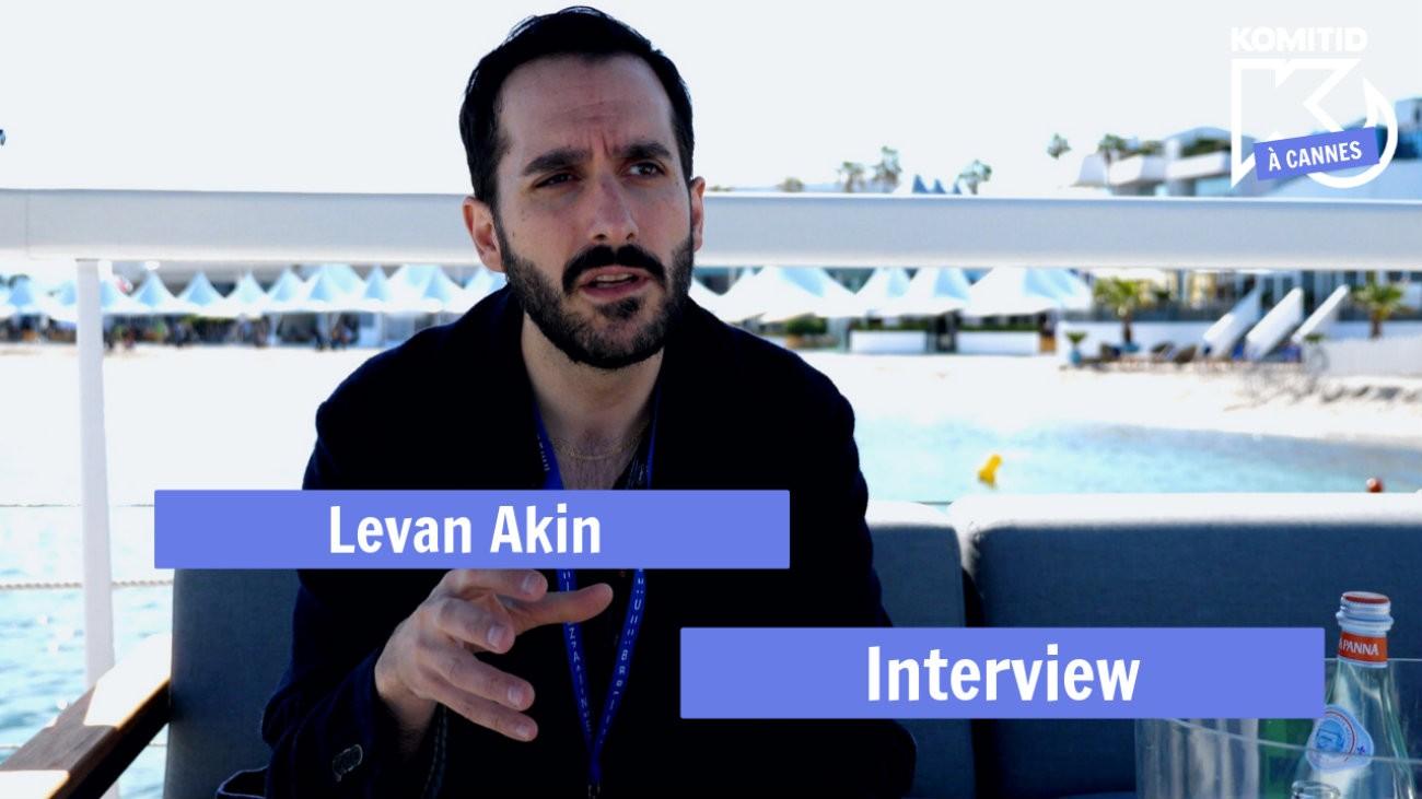 Levan Akin à Cannes en 2019