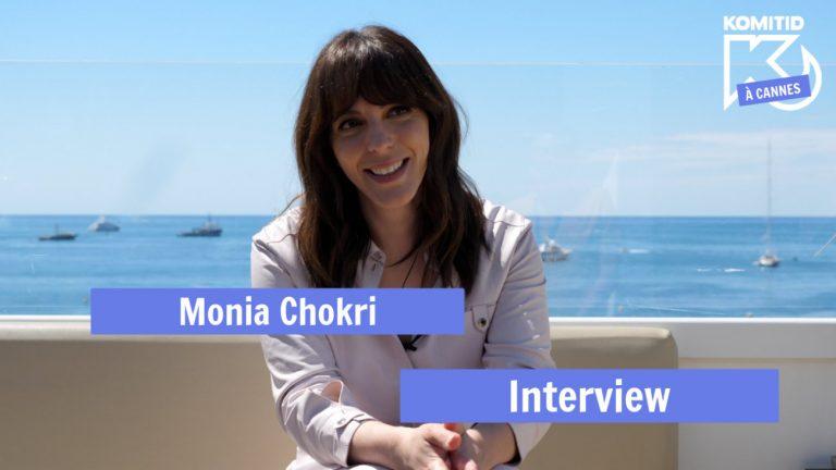 Monia Chokri à Cannes en 2019