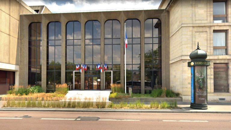 Tribunal de grande instance de Versailles - Capture d'écran Google Street View