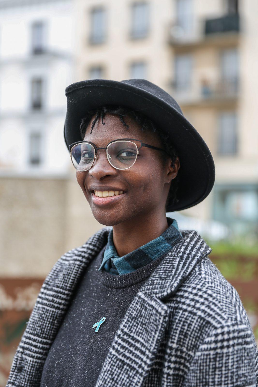 Lucie, participante de la Marche des Fiertés de St Denis le 09/06/2019 - Teresa Suarez / Komitid
