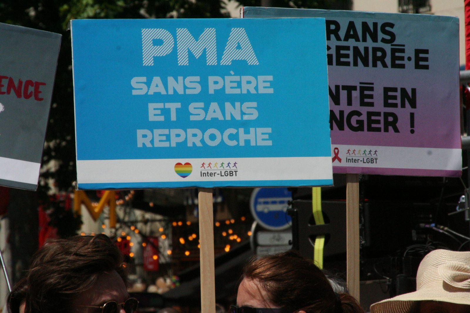 PMA et filiation: marre des lois à minima, mots d'ordre de la marche des fiertés parisienne de 2019