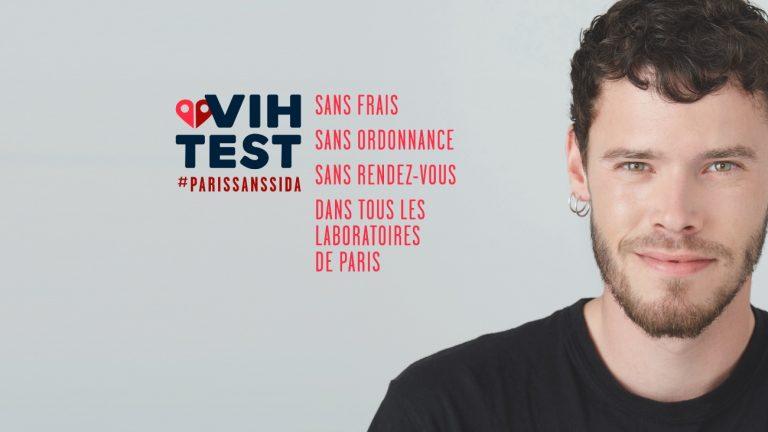 Une des cinq affiches de la campagne VIH Test.
