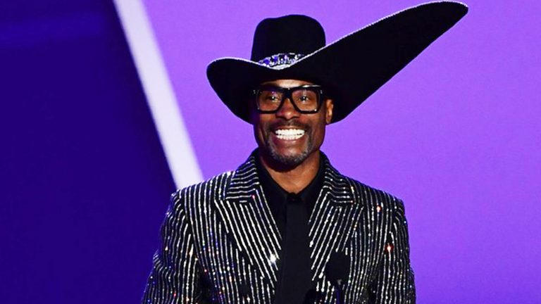 Billy Porter à la cérémonie des Emmy Awards, le 22 septembre, à Los Angeles.