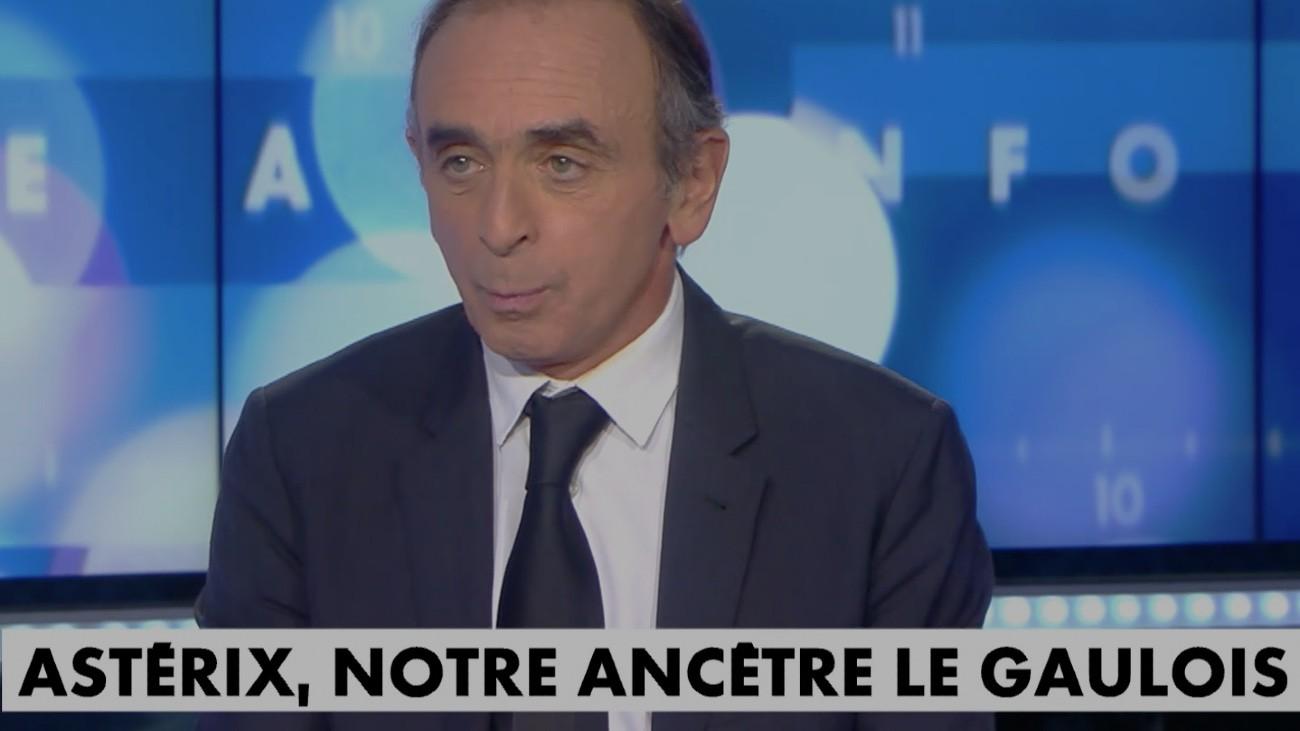 Éric Zemmour, le 24 octobre, sur Cnews - Capture d'écran