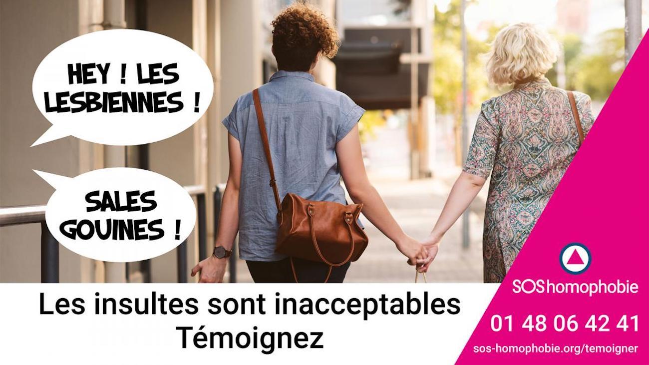 Appel à témoins SOS homophobie