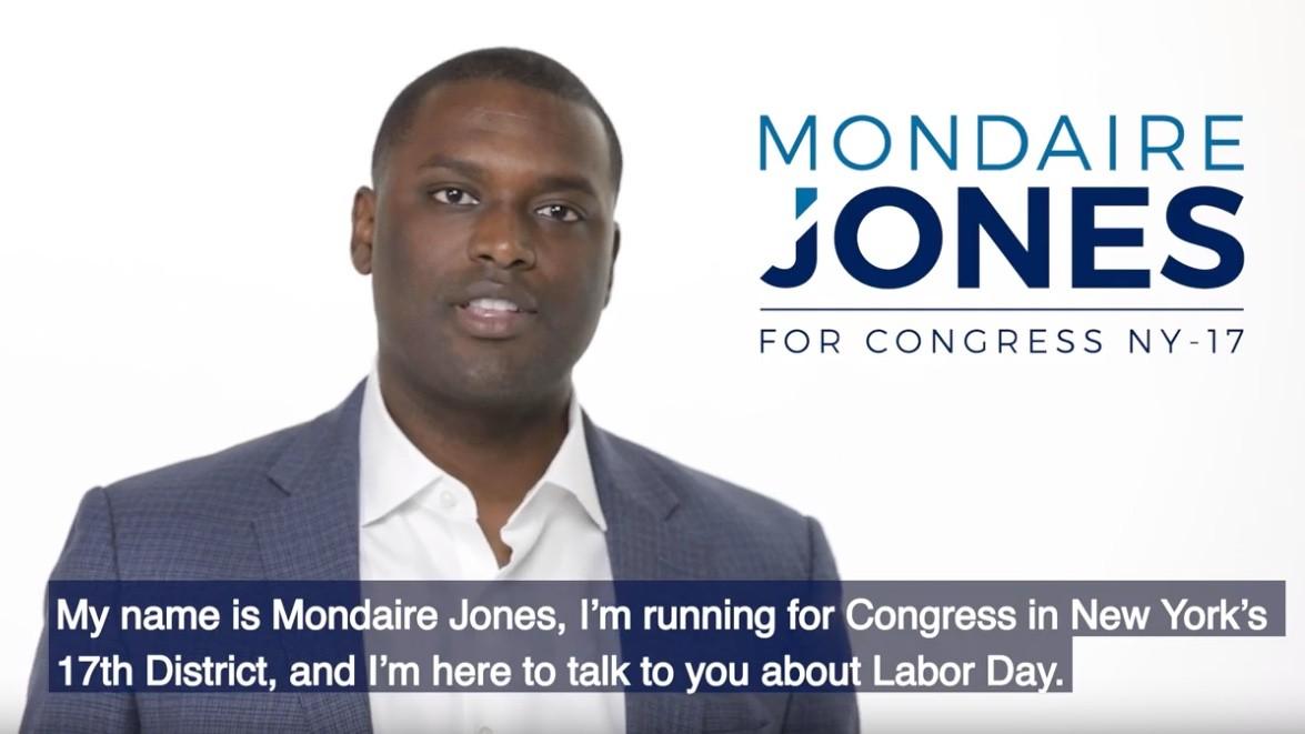 Mondaire Jones est candidat pour représenter le 17e district de New York au Congrès