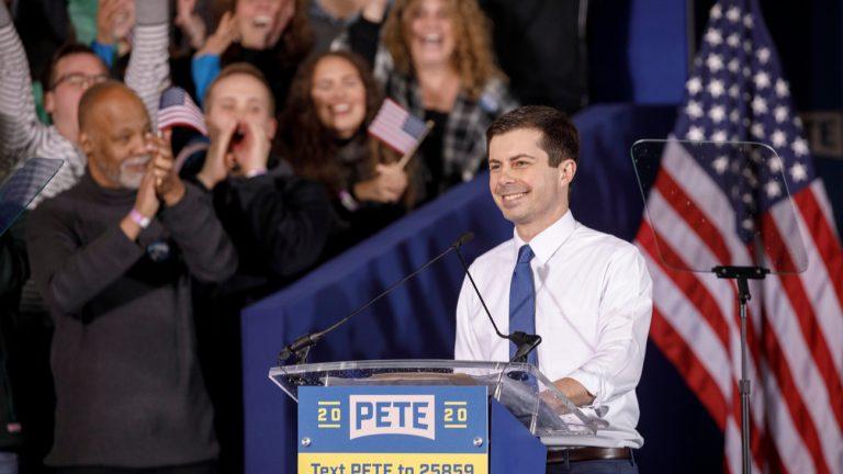 Pete Buttigieg, candidat à la primaire démocrate