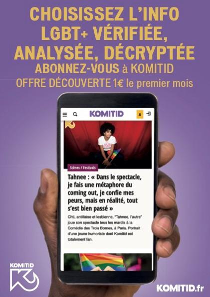 Abonnez-vous à Komitid !