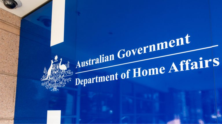 department of home affairs australie