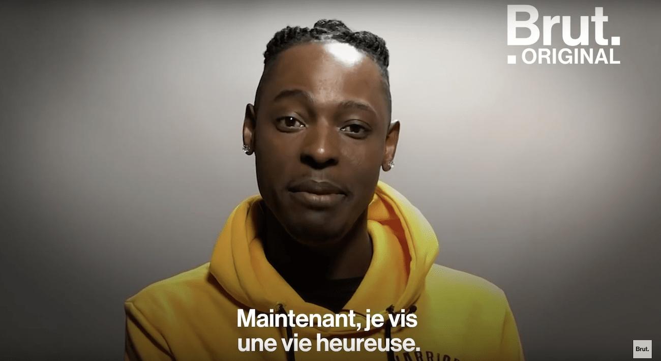 Joël, jeune réfugié ougandais
