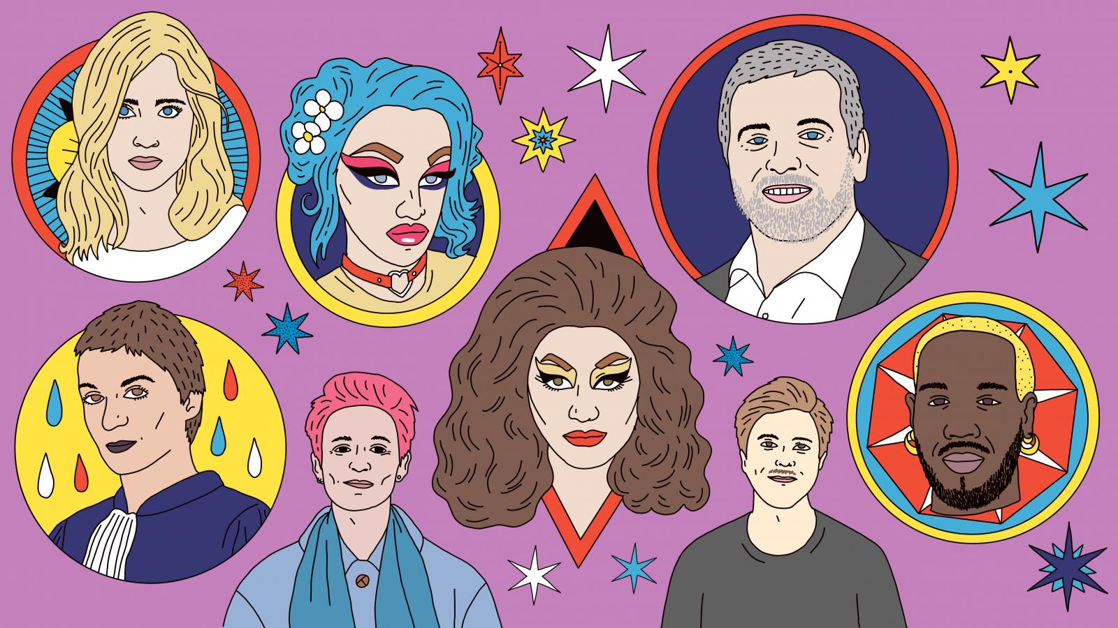 Personnalités LGBT+ 2019
