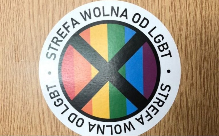LGBT-free zones pologne pride in london