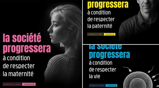 Affiches anti-avortement et anti-PMA: le bras de fer entre Alliance Vita et Anne Hidalgo se poursuit