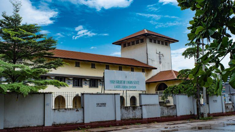 cour fédérale Lagos Nigeria