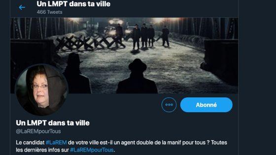 Un LMPT dans ta ville, le compte Twitter qui traque les candidat.e.s anti-égalité de la République En Marche