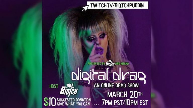 drag queen livestream