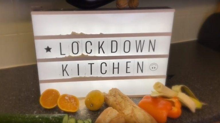 lockdown kitchen vinegar strokes