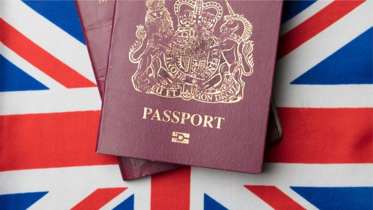 passeport Grande-Bretagne