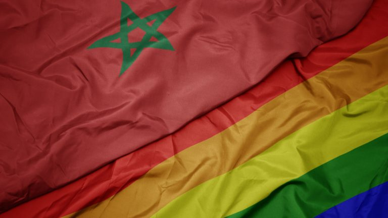 maroc drapeau lgbt