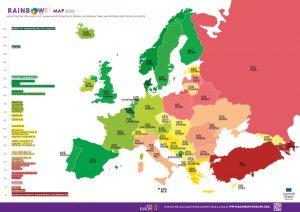 rainbow map ilga Europe