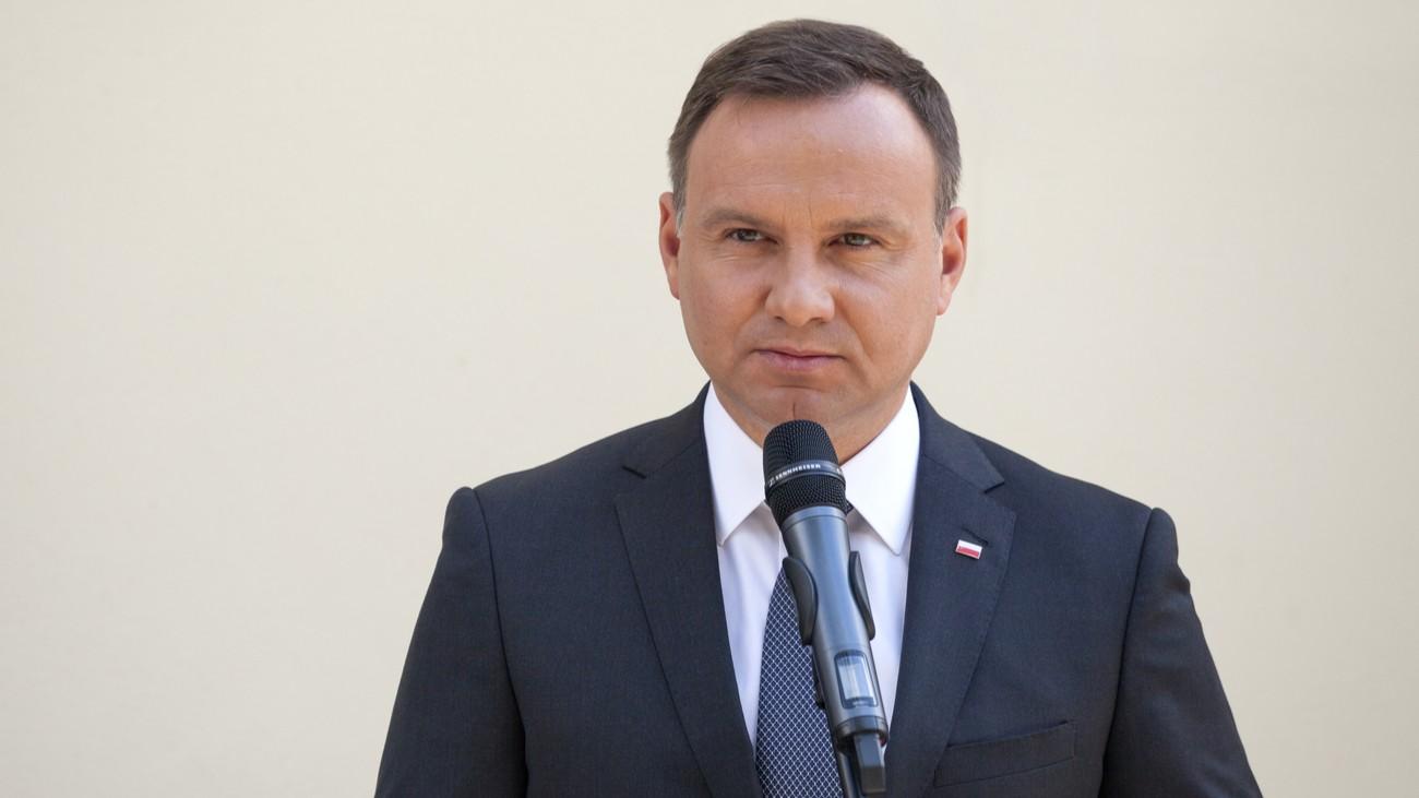 Andrzej Duda Pologne