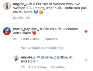 angèle instagram