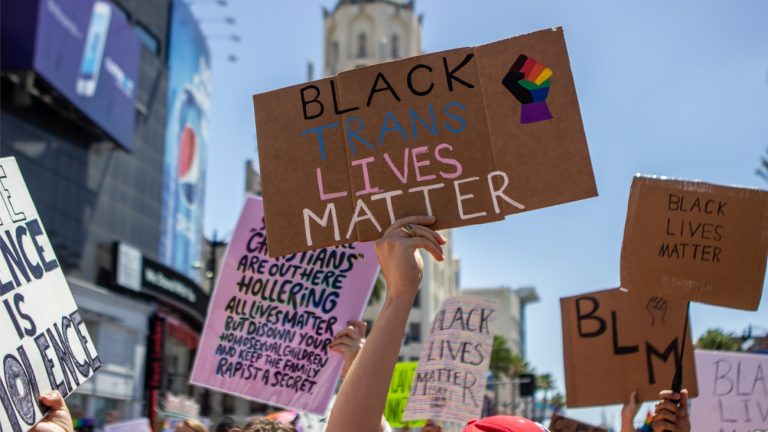 black trans lives matter Ashley Moore