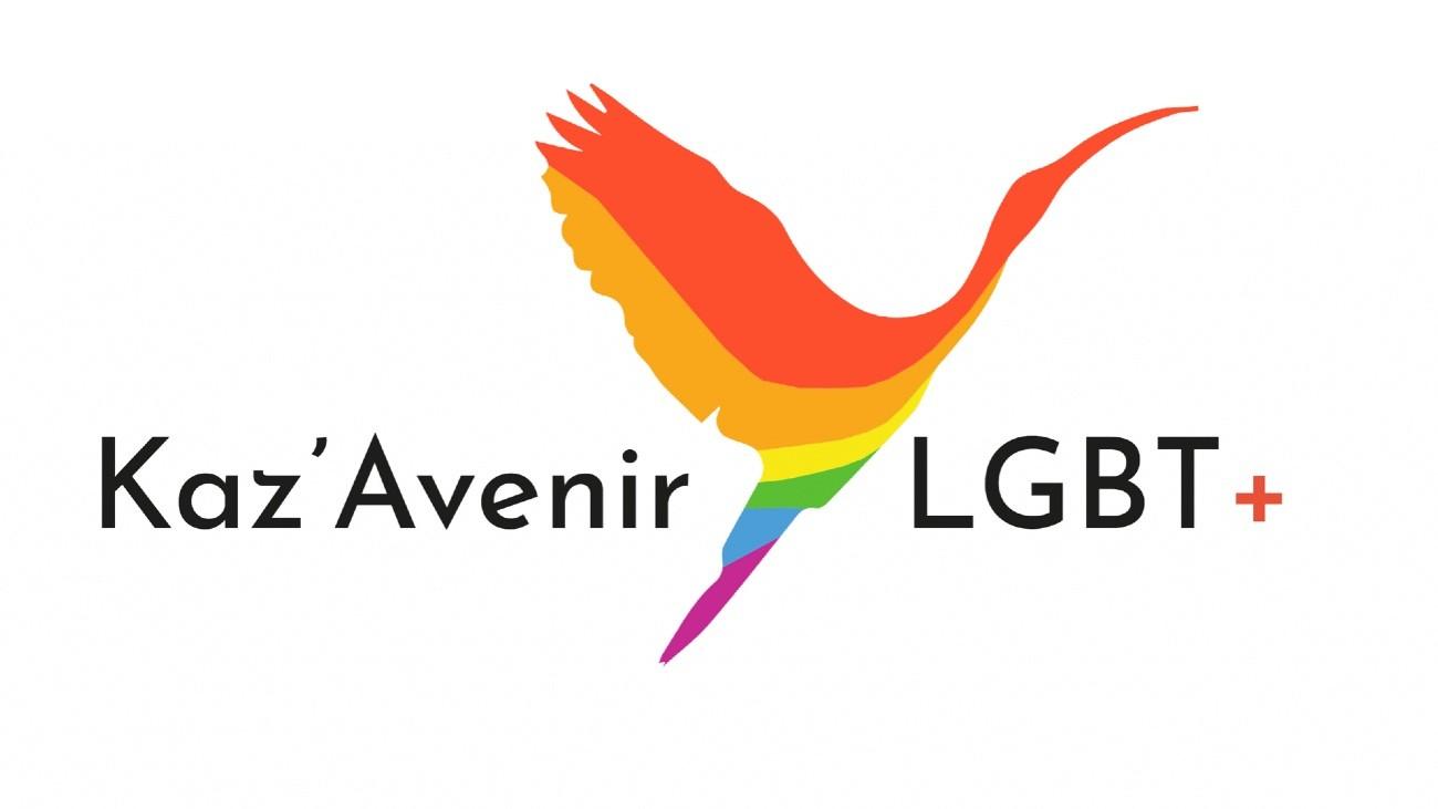 logo kaz'avenir LGBT Guyane