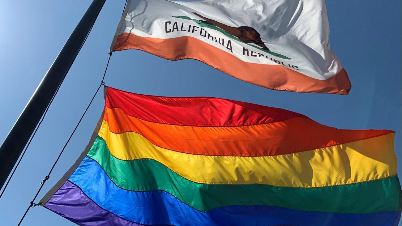 drapeau californie lgbt