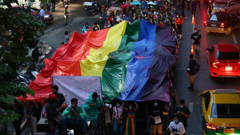manifestation Thaïlande bangkok