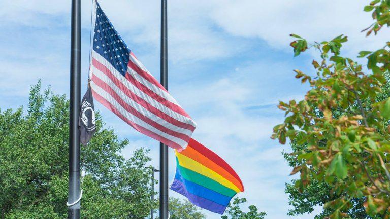 Drapeau LGBT+ & États-Unis