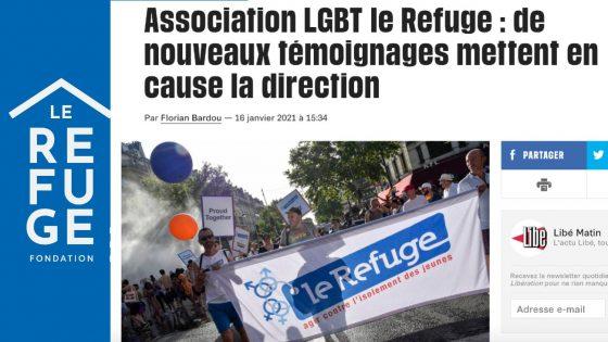 Dans Libération, de nouveaux témoignages accablent la direction du Refuge
