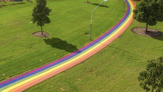 Sydney inaugure un chemin arc-en-ciel pour célébrer le mariage pour tou.te.s