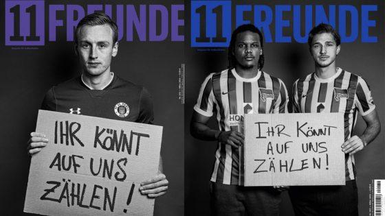 800 footballeurs et footballeuses s'engagent à soutenir leurs coéquipiers LGBT+