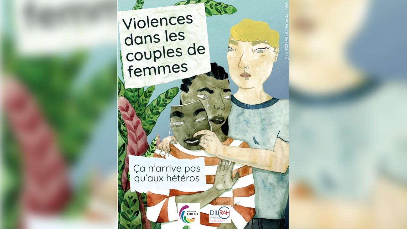 violences_couples_femmes_affiche Fédération LGBTI+