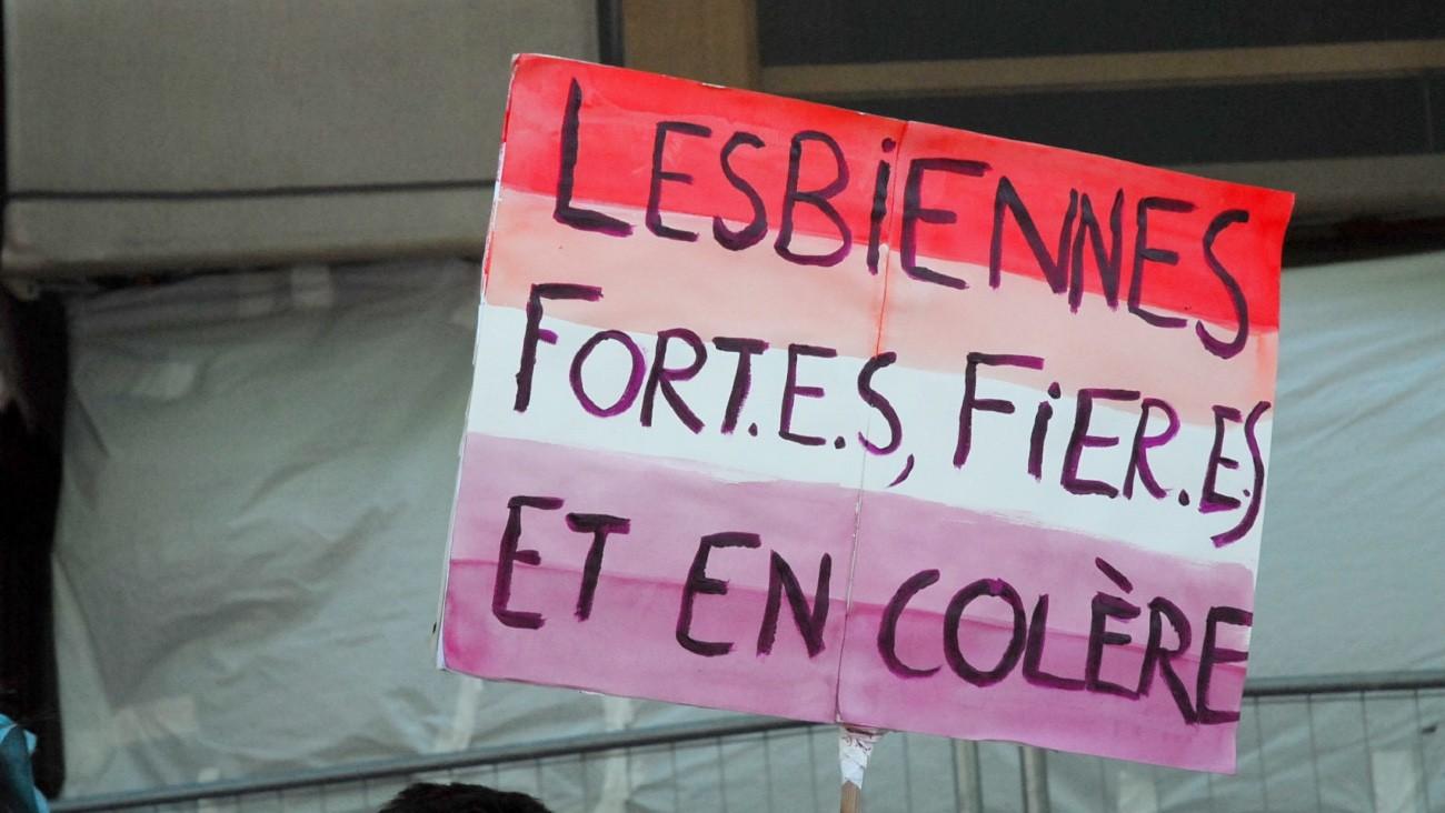marche lesbienne paris
