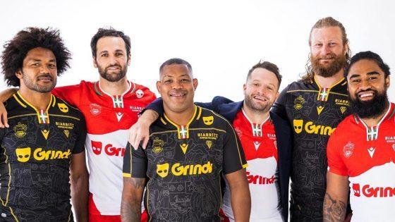 Grindr, l'appli de rencontres pour hommes gays, bis et trans, devient le partenaire officiel de l'équipe de rugby de Biarritz