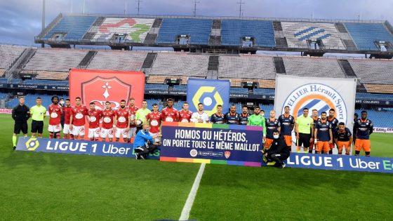 la Ligue 1 affiche son combat contre l'homophobie dans les stades