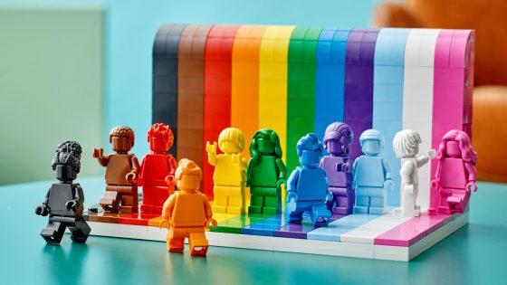 Lego lance un nouveau set pour célébrer l'inclusion LGBTI+
