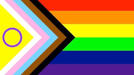 Le drapeau intersexe ajouté au drapeau Progress Pride de 2021 au Royaume Uni