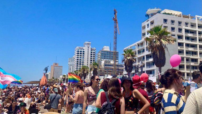marche des fiertés Tel Aviv