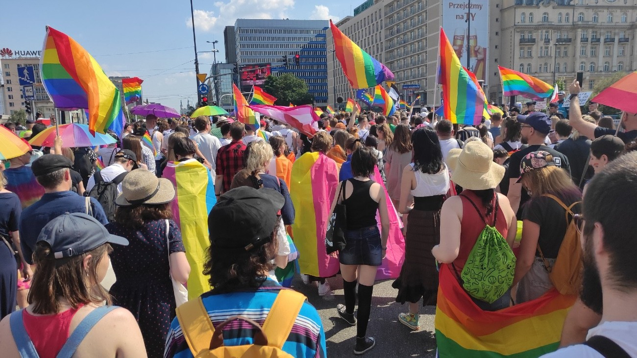marche des fiertés varsovie